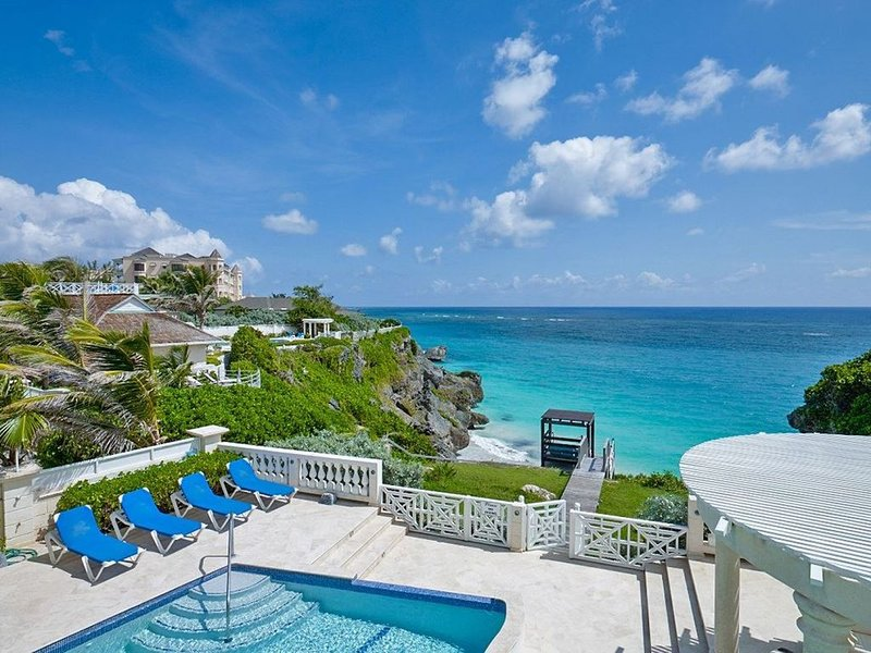 Windermere Villa Oceanfront Beauty Barbados, vacation rental in Merricks