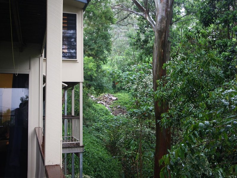 Gum Tree House with Panoramic Coastal Views, holiday rental in Diddillibah