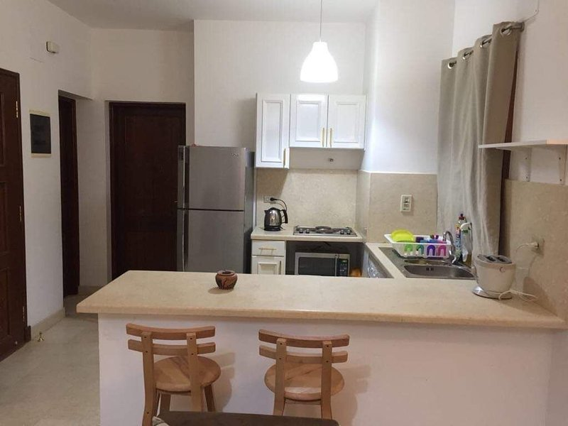Apartment one bedroom,bathroom,fully equipped,fully furnished,, Ferienwohnung in El Gouna