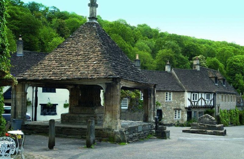 The beautiful and idyllic village of Castle Combe
