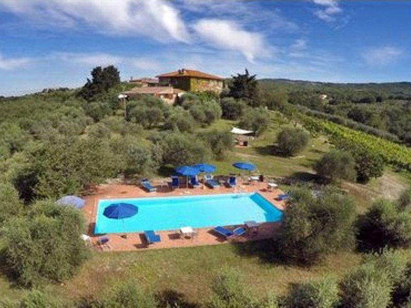 Agriturismo  nel chianti con piscina ' Foresta 2', vacation rental in Quercegrossa