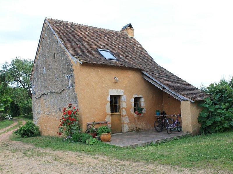 Maison d'amis dans village de caractère d'Asnières sur vègre (proche Solesmes), location de vacances à Sable-sur-Sarthe