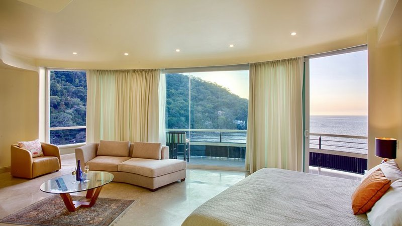 LUXURY PANORAMIC SUITE WITH A MILLION DOLLAR VIEWS, holiday rental in Cabo Corrientes