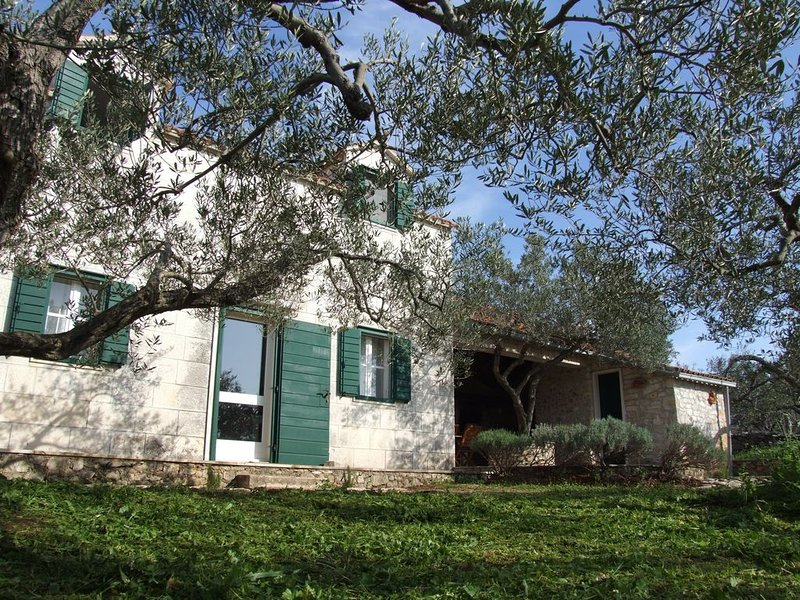 Holiday home KATIA / Panoramic view / Large garden, vacation rental in Pucisca