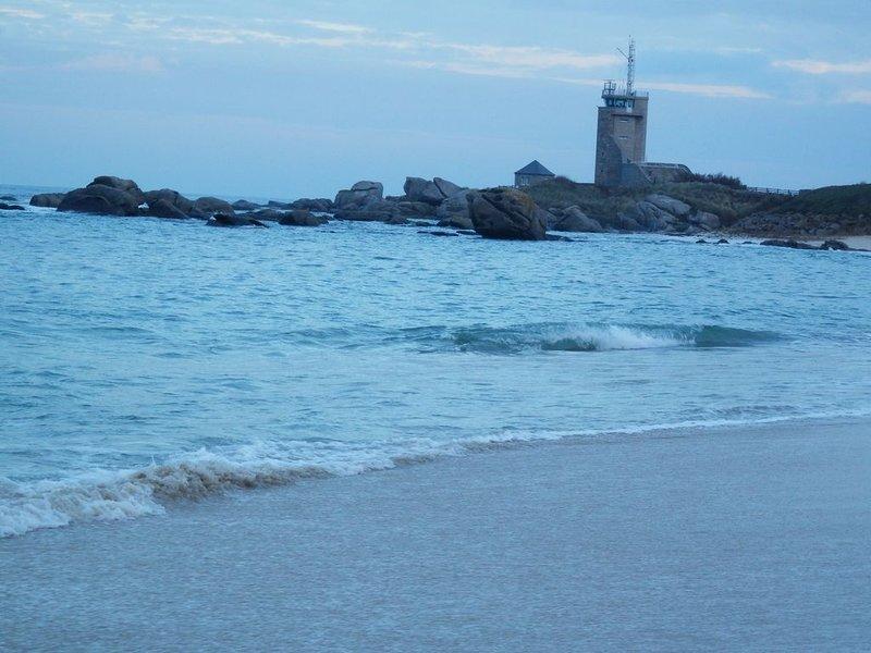 Maison pêcheur, mer 150 mètres, location de vacances à Brignogan-Plage