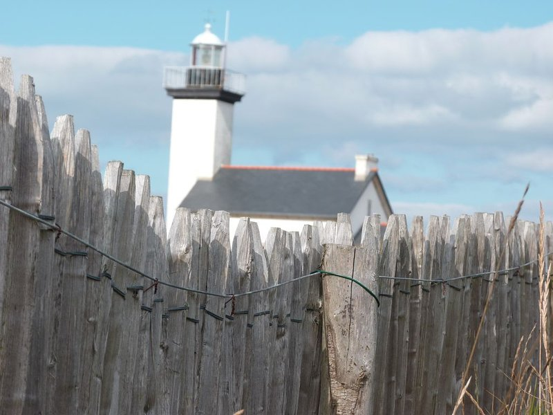 Pontusval Lighthouse op 800 meter