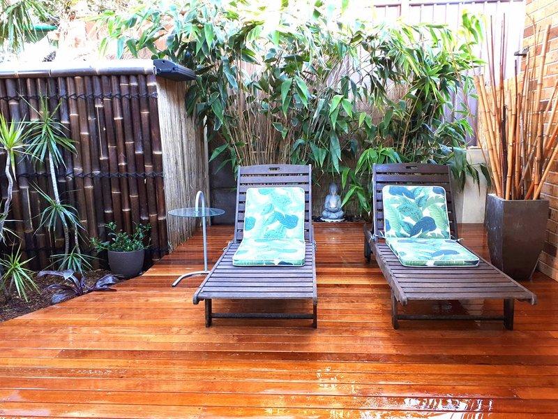 Novo Lounge Sun / Deck de Relaxamento
