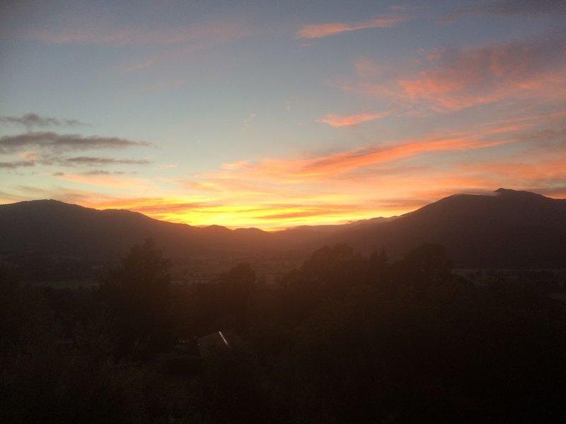 Typical Tawonga sunrise