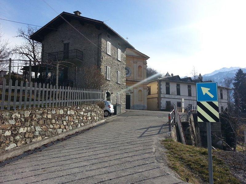 Valtellina mon amour, holiday rental in Chiuro