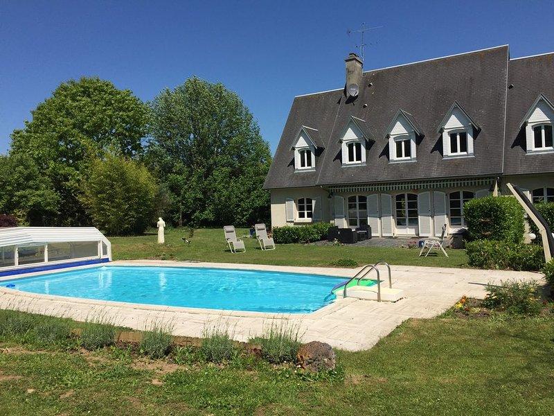 5 Beautifully designed en suite rooms, with Swimming Pool & Garden., alquiler vacacional en Morigny