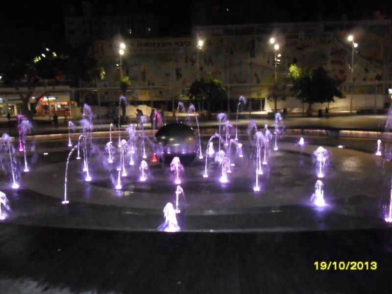 new fountain of the kikar