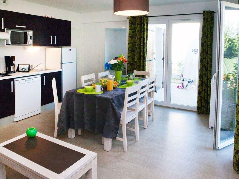 Petite maisonette 4p, près de la plage, cuisine équipé, aluguéis de temporada em Olonne-sur-Mer