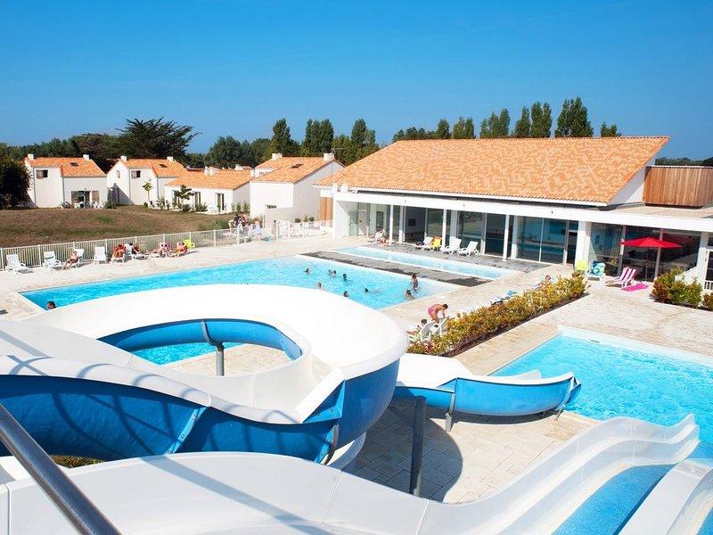 Maison cosy et spacieux 6p, piscine avec toboggan sur place !, aluguéis de temporada em Olonne-sur-Mer