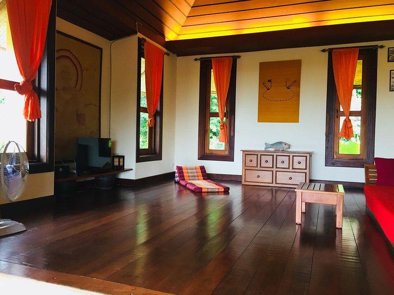 Private Villa Koh Lanta Kantiang Bay Sea View, holiday rental in Ban Sala Dan