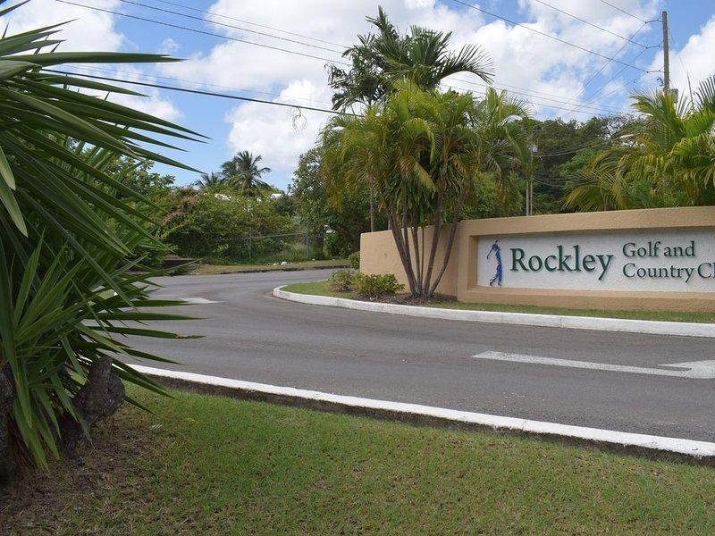Entrance to Rockley Resort
