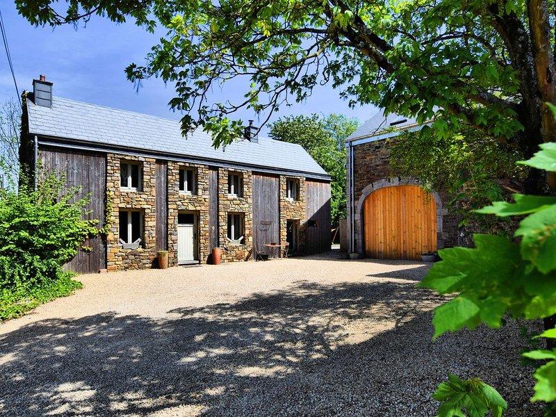 Elegant Farmhouse in Durbuy with Sauna, holiday rental in Barvaux