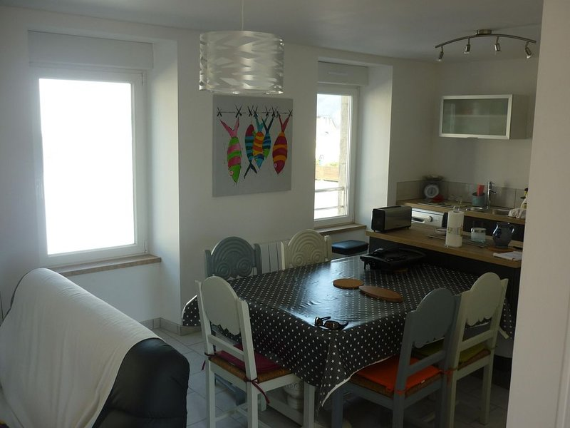 Location duplex bord de mer, holiday rental in Penmarch