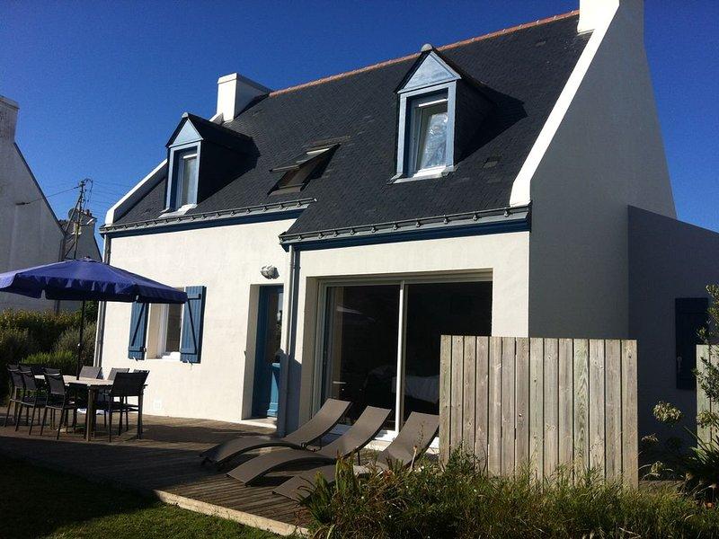 Locmaria ,maison 3 clévacances à 100 m. de la plage Maison avec jardin, location de vacances à Groix