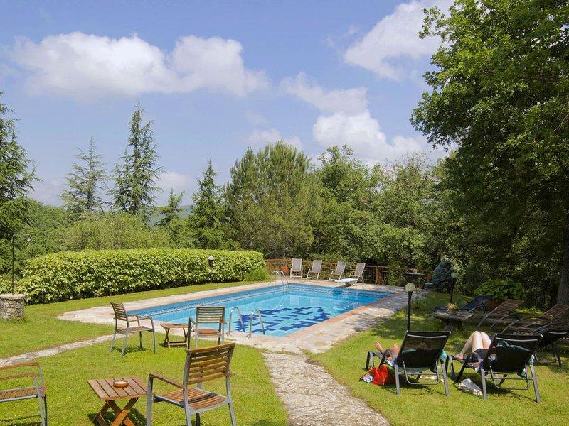 Adorable Farmhouse in Radda In Chianti with Garden, location de vacances à Volpaia