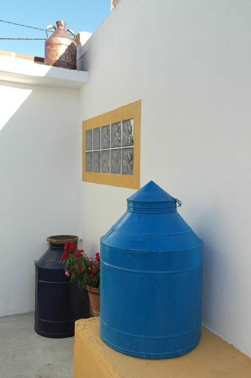 Detalle del espacio exterior de la Casa da Galinhola