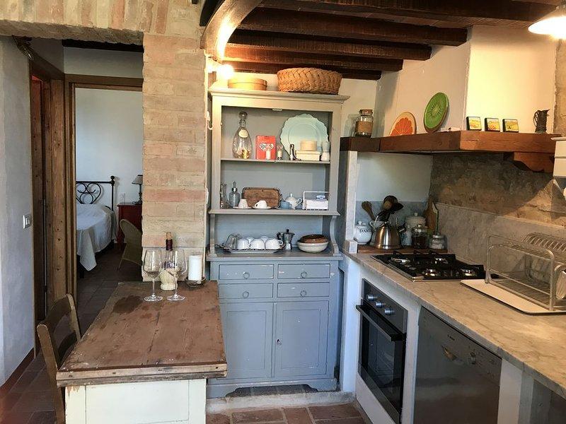 Offerta speciale Villa indipendente con camino appena ristrutturata., holiday rental in San Felice