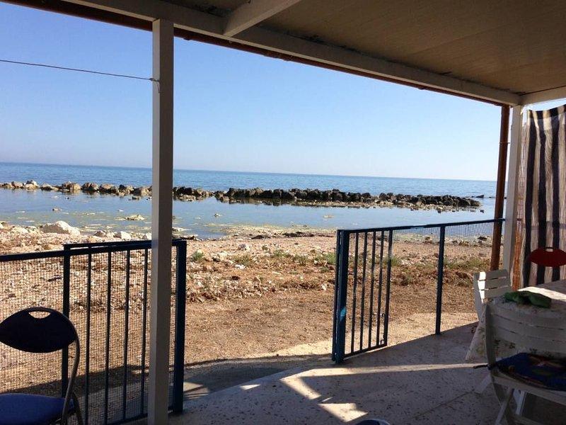 Grazioso appartamento sul mare Bandiera Blu, alquiler de vacaciones en Menfi