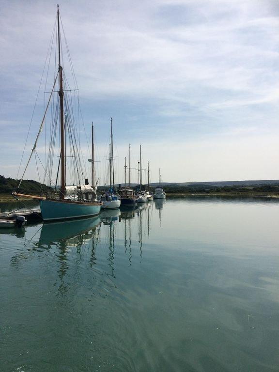 Yar Estuary. Yarmouth.