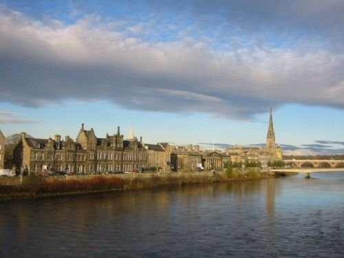 River Chambers overlooks River Tay