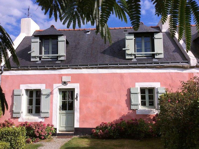 maison de charme avec terrasses sud et ouest. Petit jardin clos., location de vacances à Belle-Ile-en-Mer