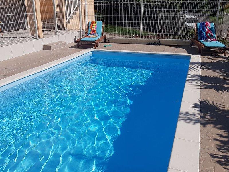 VILLA SOLEIL LEVANT, CLIMATISEE, WIFI, PISCINE PRIVEE, alquiler de vacaciones en Le Francois