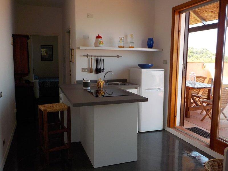 Isola d' Elba - Appartamento con terrazza vista mare 'Il Cantuccio', holiday rental in Biodola