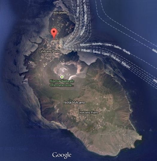 Location - View from the satellite
