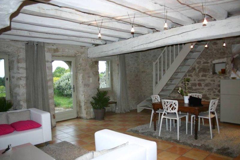 Maison de paludier avec caractère, casa vacanza a Guerande