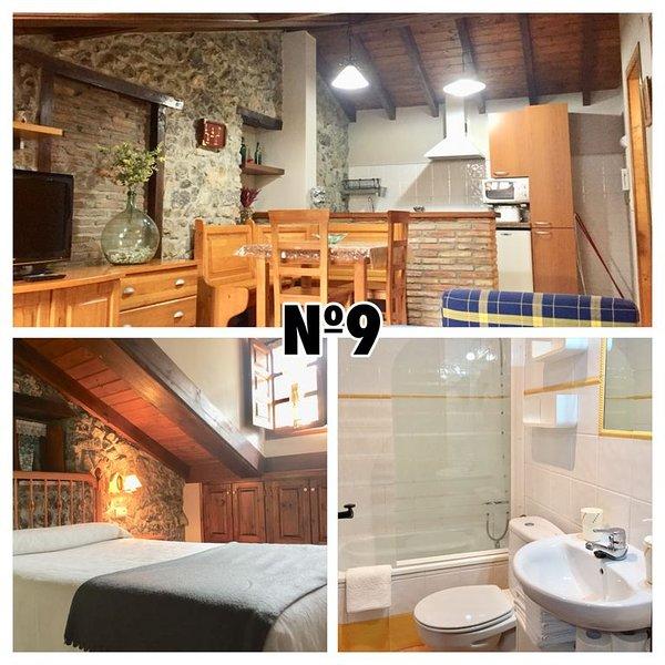 Aptos El Carril Nº9 (4p) Llanes-Cue, holiday rental in Alles