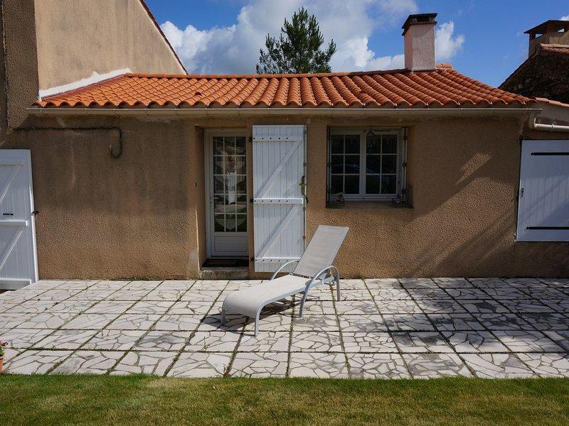 Votre entrée indépendante par la terrasse