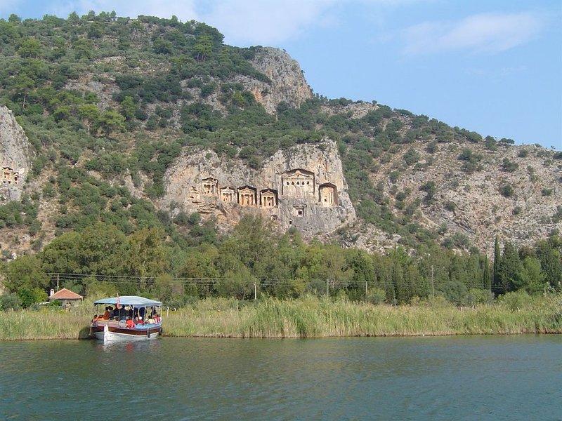 Lycian Tombs in Dalyan
