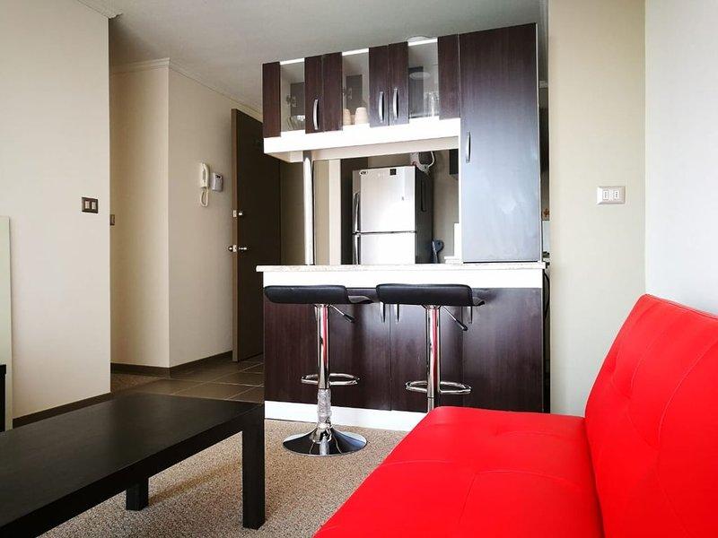 Apartamento nuevo equipado... Best flat in Valparaíso, alquiler de vacaciones en Valparaiso