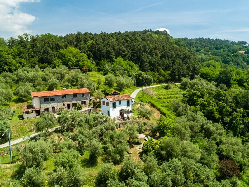Beautiful holiday home with private swimming pool and stunning rural view, location de vacances à Buggiano