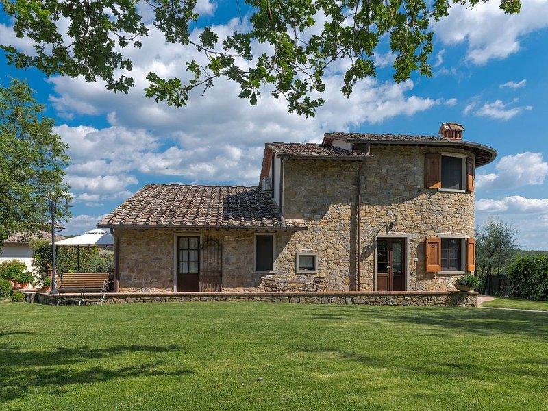 Poggio della Villa, Radda in Chianti, Siena and Chianti, holiday rental in Radda in Chianti