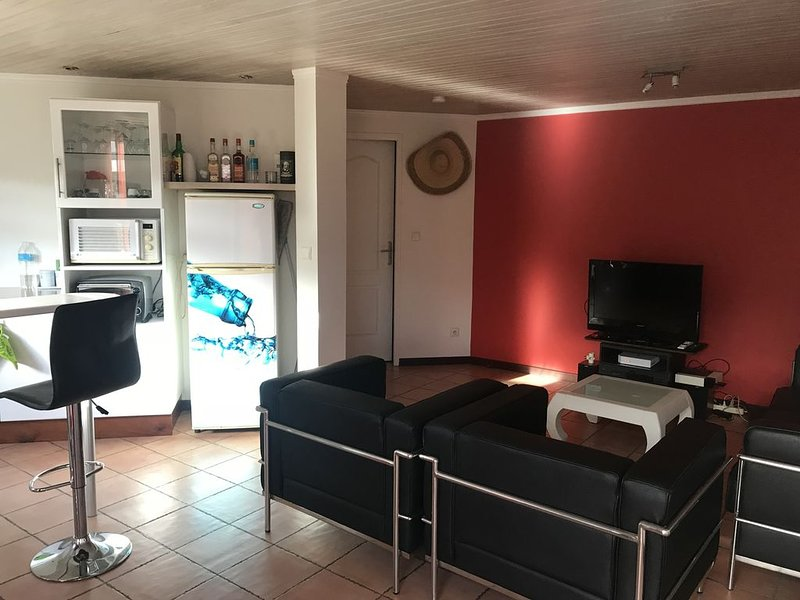 Sympathique T2 de 45 m2, location de vacances à Arrondissement of Fort-de-France