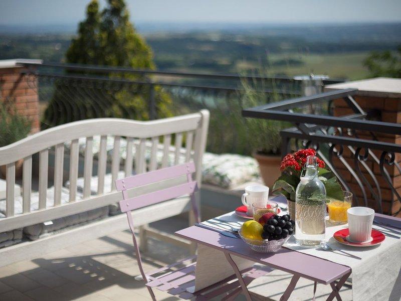 B&B La Valle del Tevere, tra Roma e la Sabina. Camera Pervinca., holiday rental in Ponzano Romano