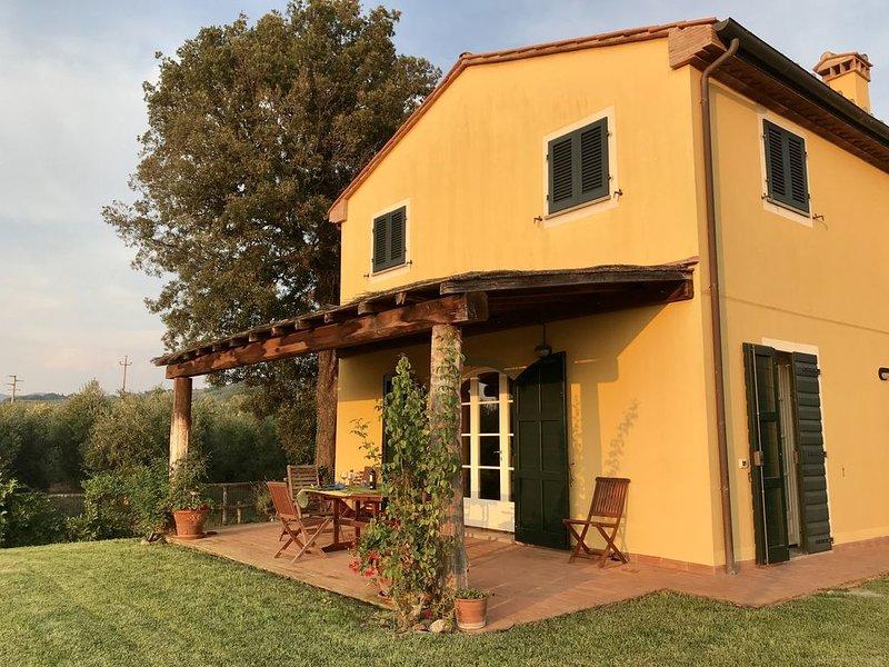 Villa singola con piscina sulla strada del vino di Bolgheri ., vacation rental in Castagneto Carducci
