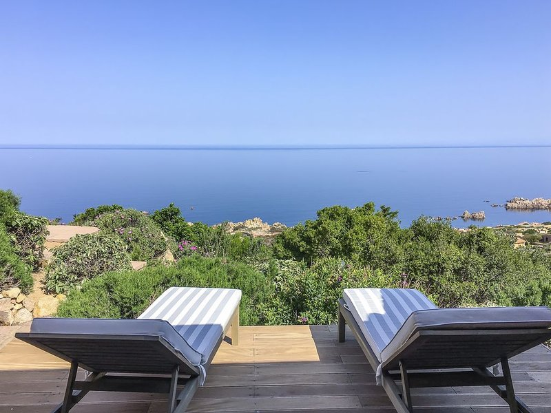 Villa Stelle, Costa Paradiso in Gallura, vista mare, vacation rental in Costa Paradiso