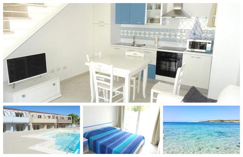 Romantica casa al mare in Sardegna, location de vacances à Santa Maria Coghinas