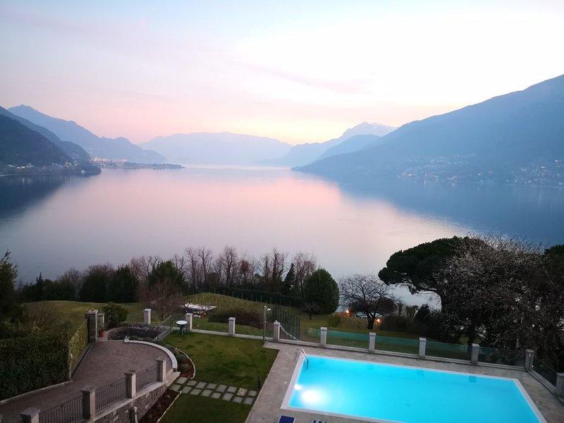 APPARTAMENTO RAFFAELLO - La terrazza del Lago Di Como, vacation rental in Olgiasca