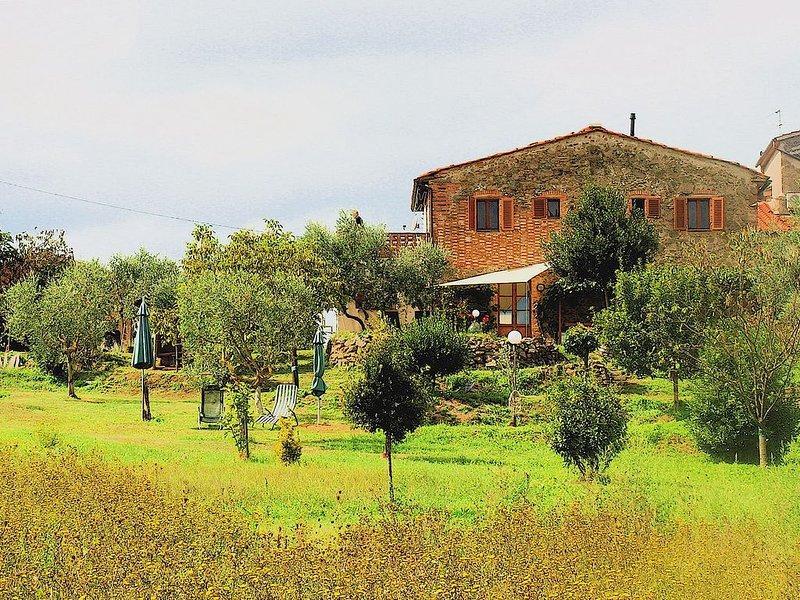 Casa rustica Nähe Vinci/Toscana, Ferienwohnung in Lamporecchio