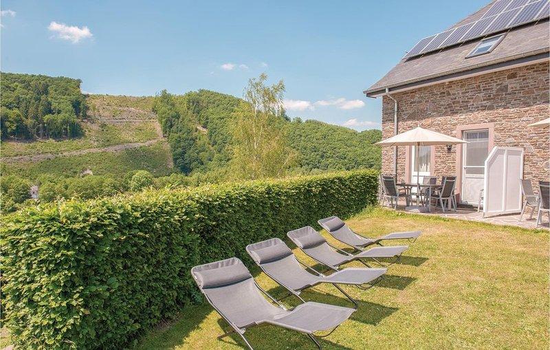 3 Zimmer Unterkunft in Steffeshausen-BurgReuland, holiday rental in Bleialf