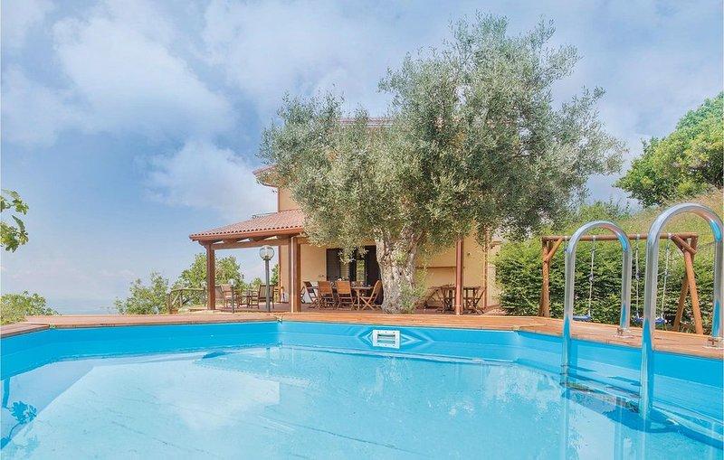 3 Zimmer Unterkunft in Belvedere Marittimo CS, vakantiewoning in Sangineto