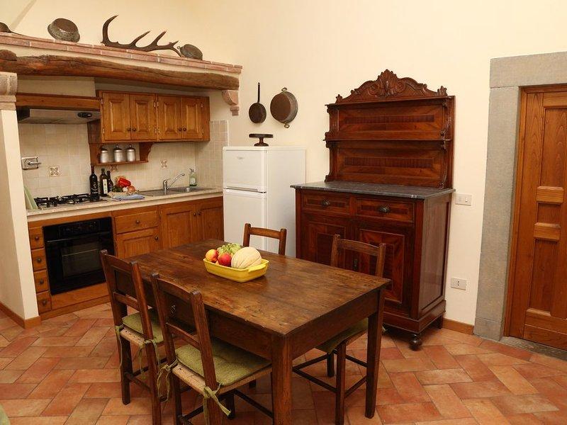 Bilocale con piscina , wifi e bel panorama sulle colline toscane, holiday rental in Serravalle Pistoiese