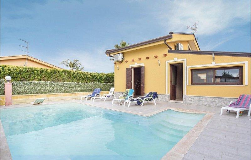 3 Zimmer Unterkunft in Campofelice di Roccell, vacation rental in Buonfornello